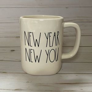 Rae Dunn NEW YEAR NEW YOU Mug